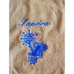 Detský uterák s menom Sandra