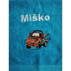 Detský uterák s menom Miško