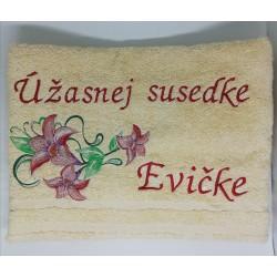 Uterák úžasnej susedke Evičke