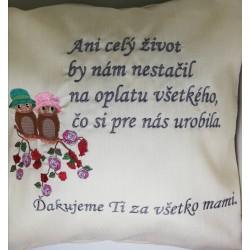 Vankúš - mama