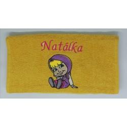 Detský uterák s menom Natálka