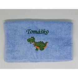 Detský uterák s menom Tomáško